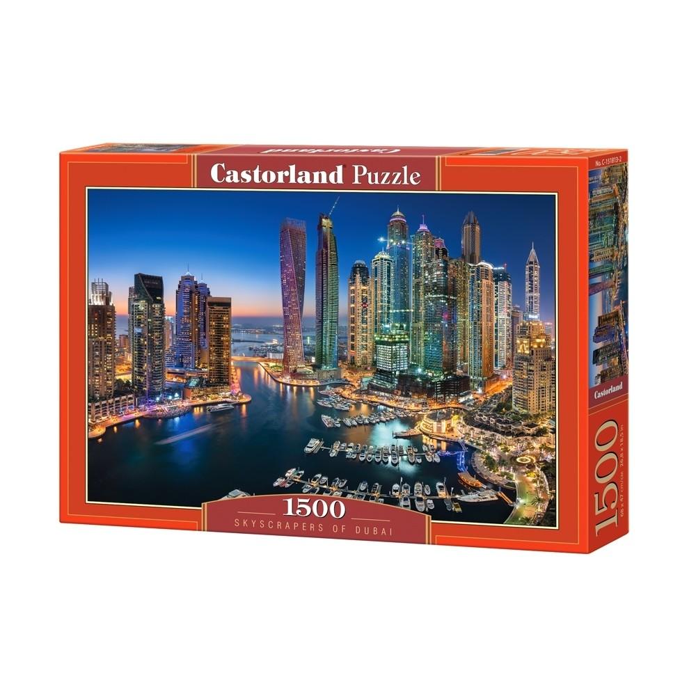 7e86a8ff520 Παζλ Castorland 1500 κομμάτια - Ουρανοξύστες του Ντουμπάι σε σούπερ ...